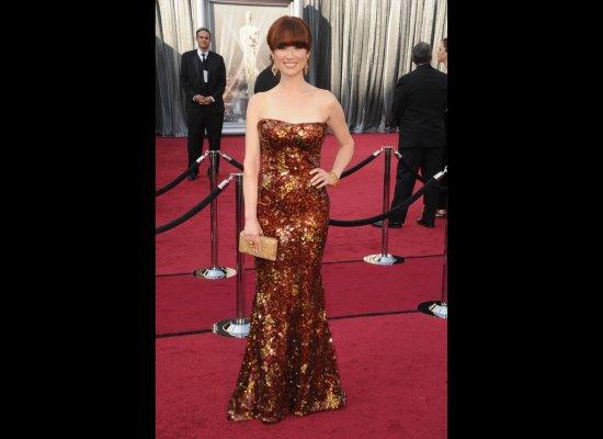 Ellie Kemper in her 2012 Oscars Dress