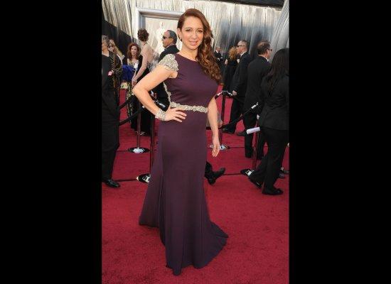 Maya Rudolph in her 2012 Oscars dress
