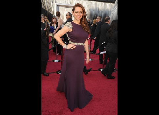 Maya Rudolph in her 2012 Oscars dress