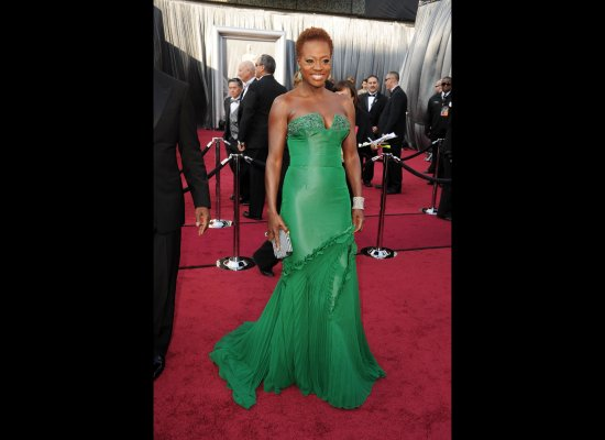 Viola Davis in her 2012 Oscar dress