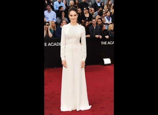 Shailene Woodley in her Oscar 2012 dress