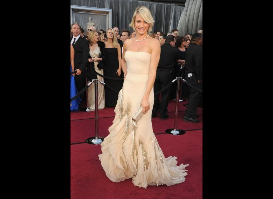 Cameron Diaz in her 2012 Oscars Dress