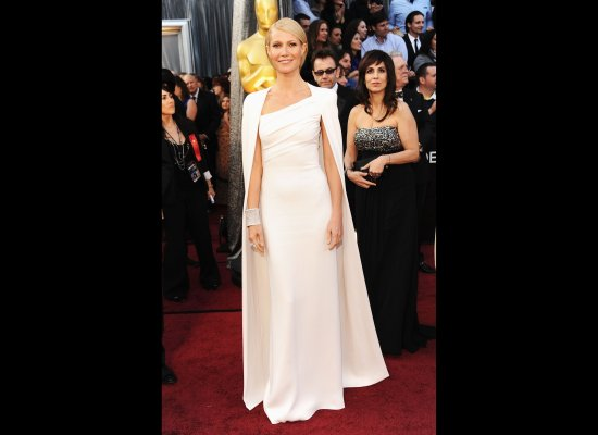 Gwyneth Paltrow in her 2012 Oscars Dress