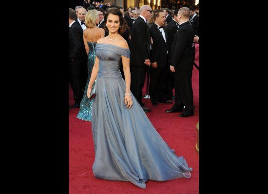 Penelope Cruz in her 2012 Oscars dress