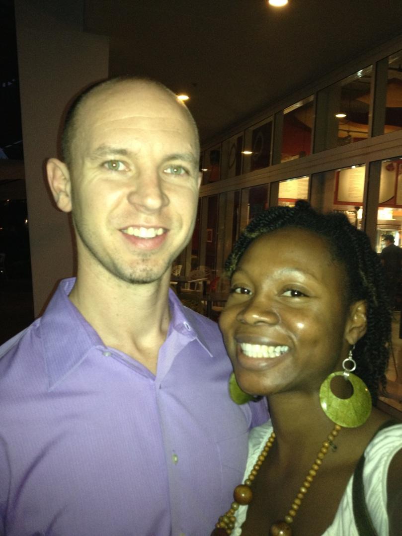 a husband and a wife