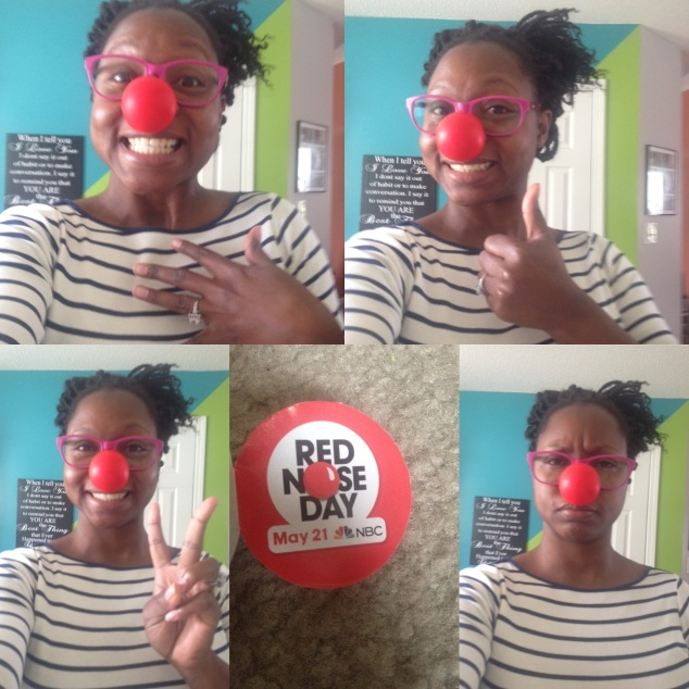 go to www.rednoseday.org to donate. #Rednose25